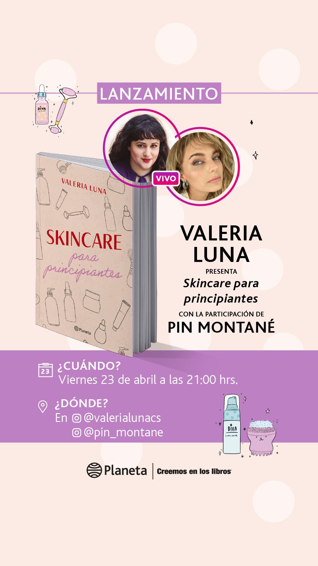 23.04 Lanzamiento Skincare para principiantes