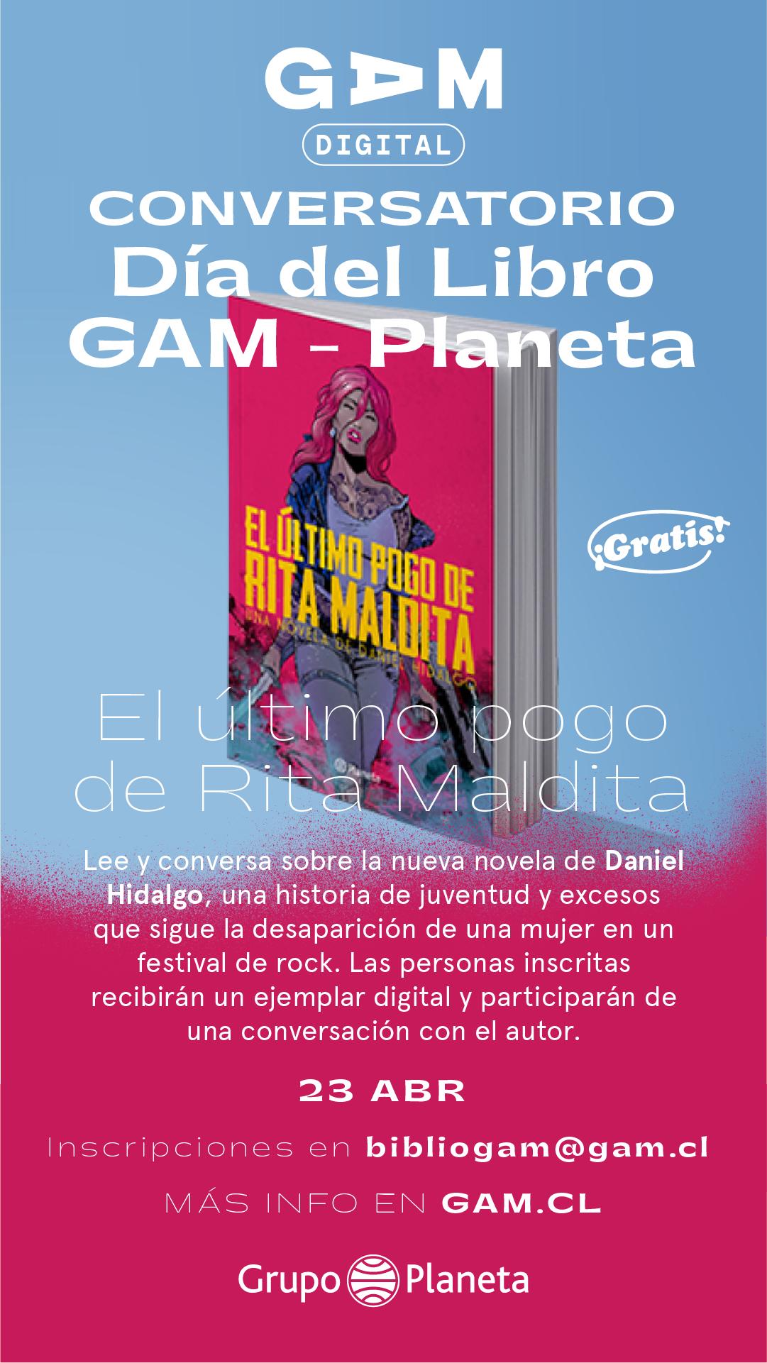 23.04 Conversatorio El último Pogo de Rita Maldita